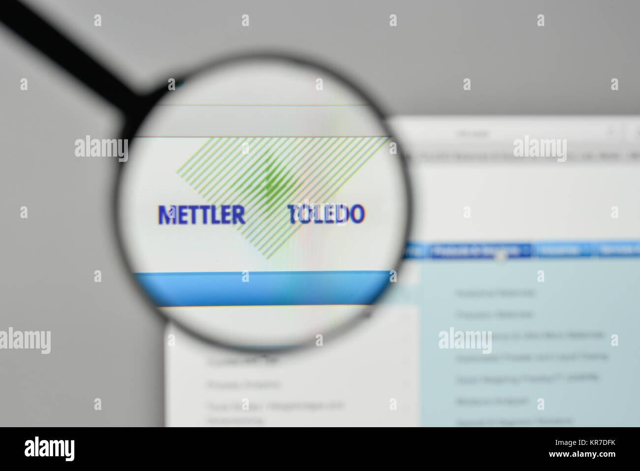 Milan, Italy - November 1, 2017: Mettler Toledo