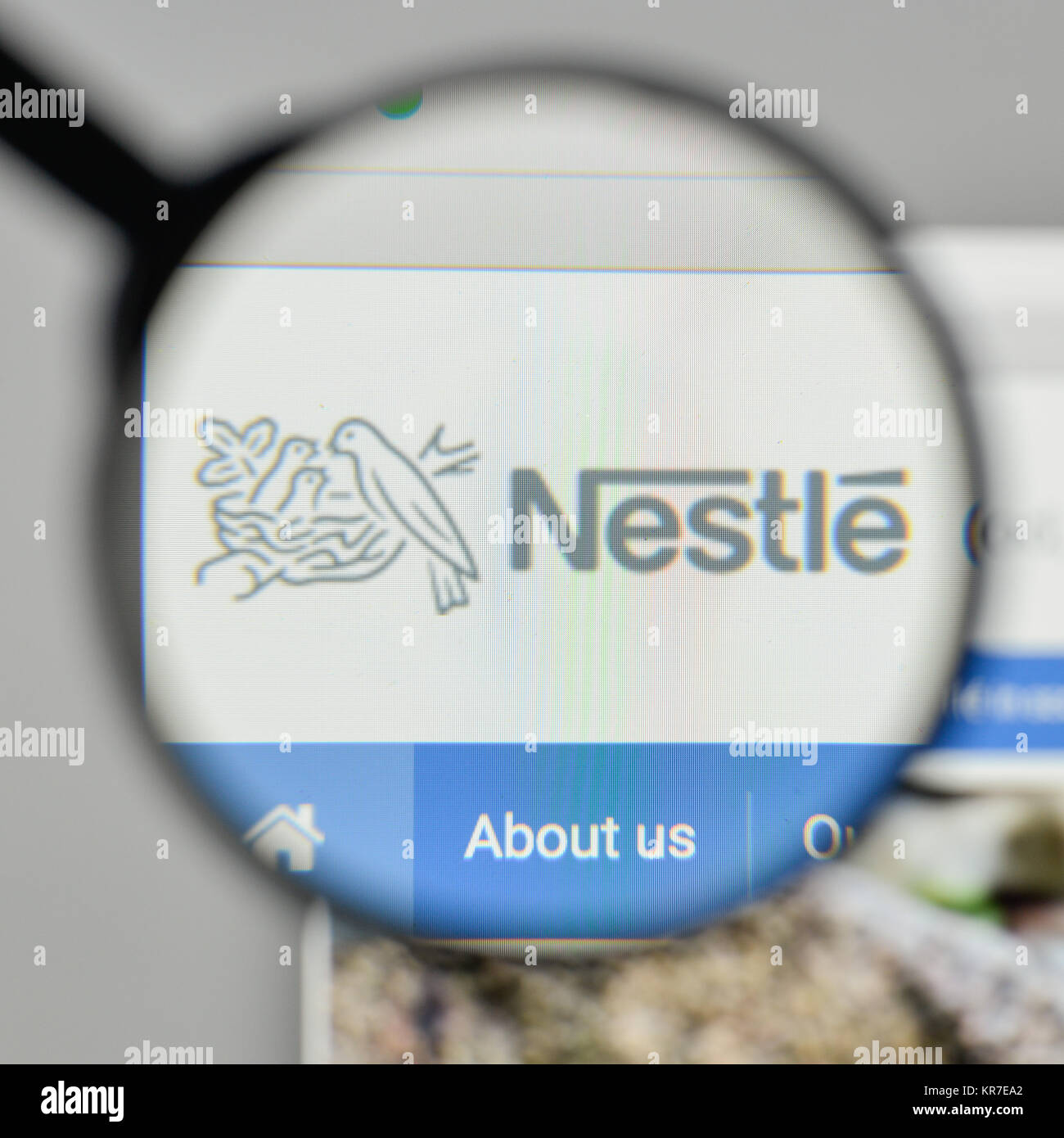 Nestle Logo Stock Photos & Nestle Logo Stock Images - Alamy