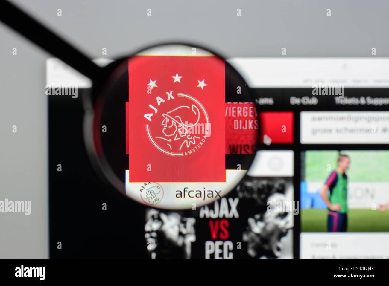 ajax amsterdam homepage