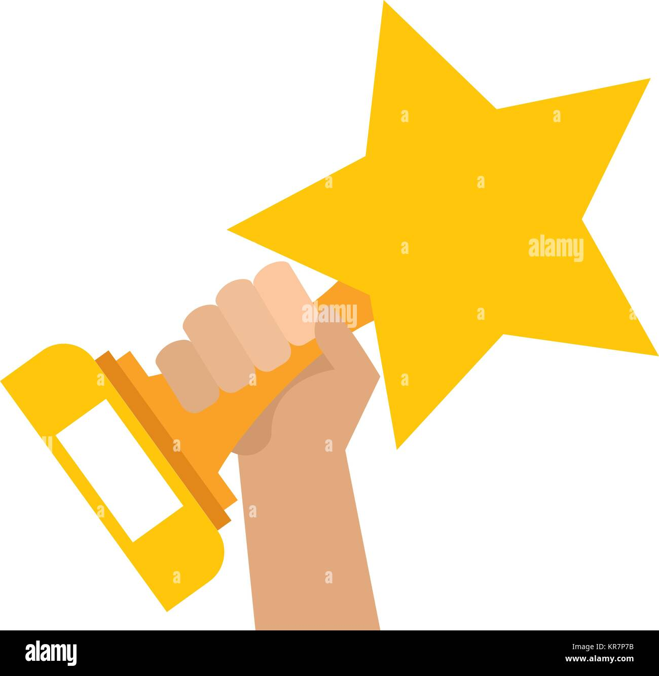 hands with star trophy winner icon stock vector image art alamy https www alamy com stock image hands with star trophy winner icon 169201519 html
