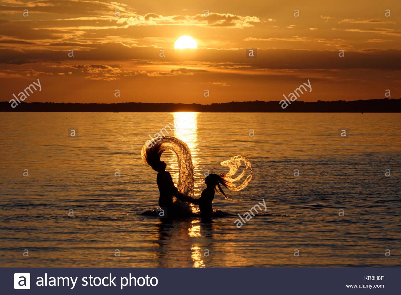 mermaids - Stock Image