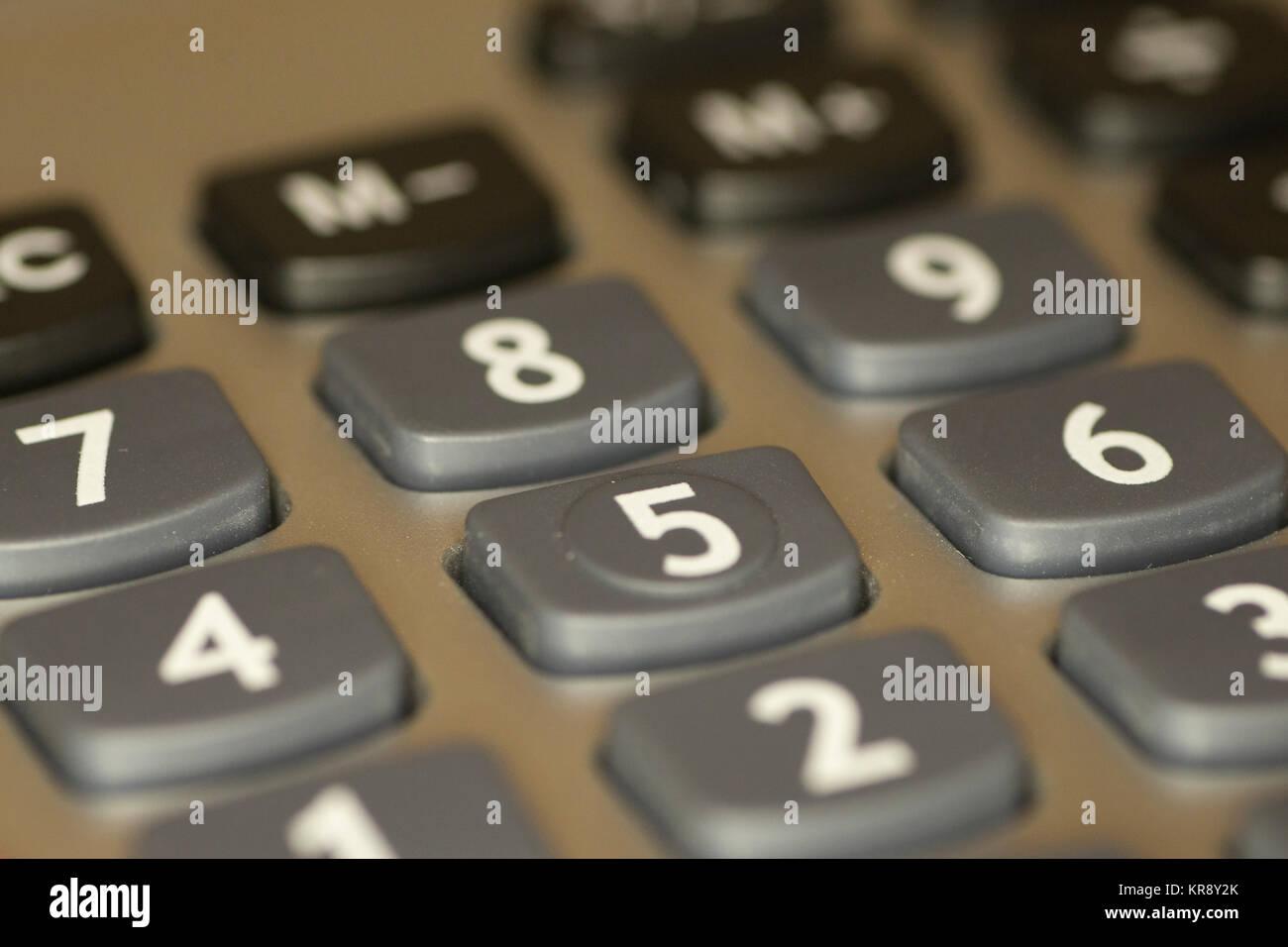 Calculator Keys Stock Photos Calculator Keys Stock Images Alamy