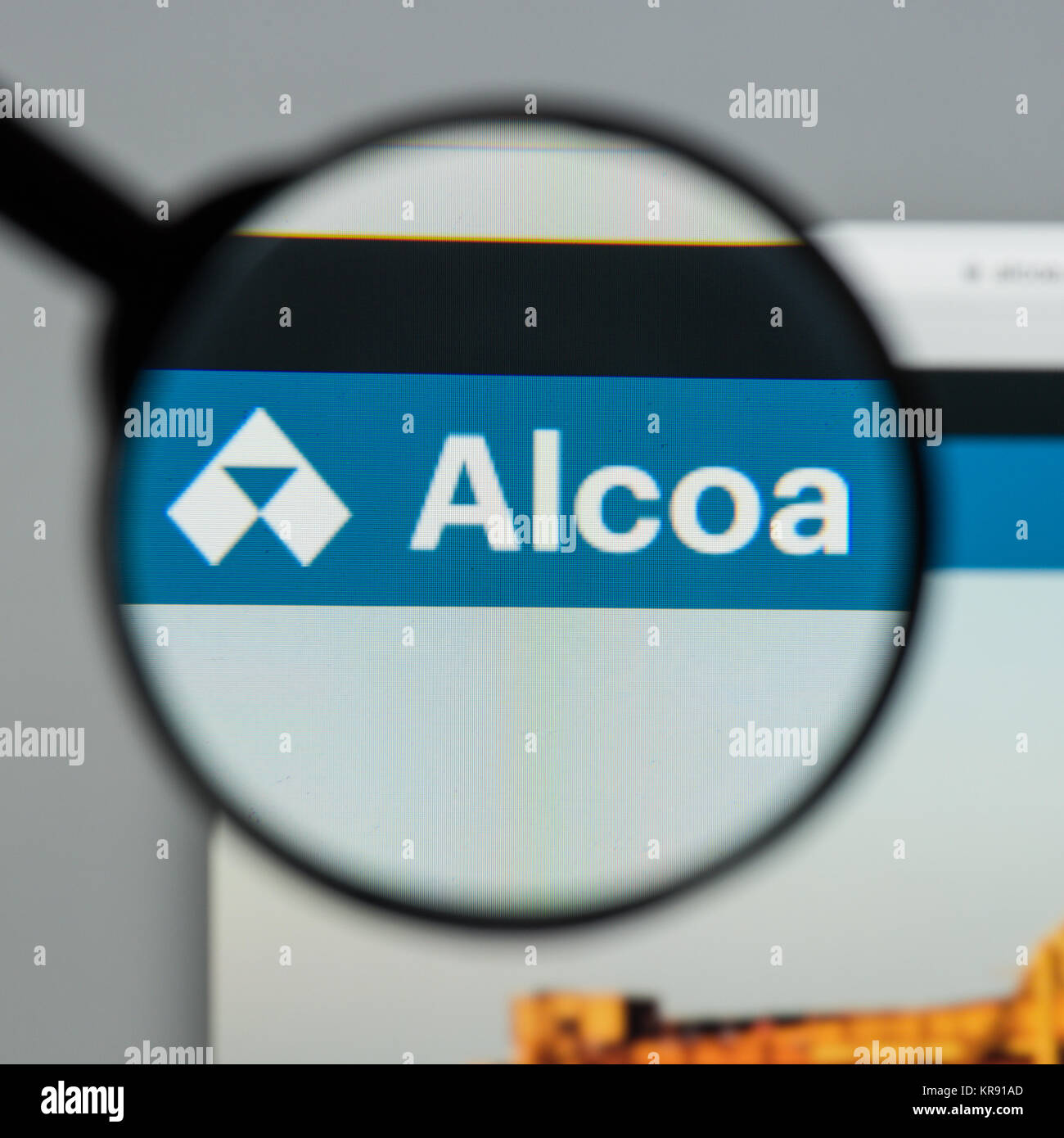 Alcoa Aluminum Corporation Stock Photos Alcoa Aluminum Corporation