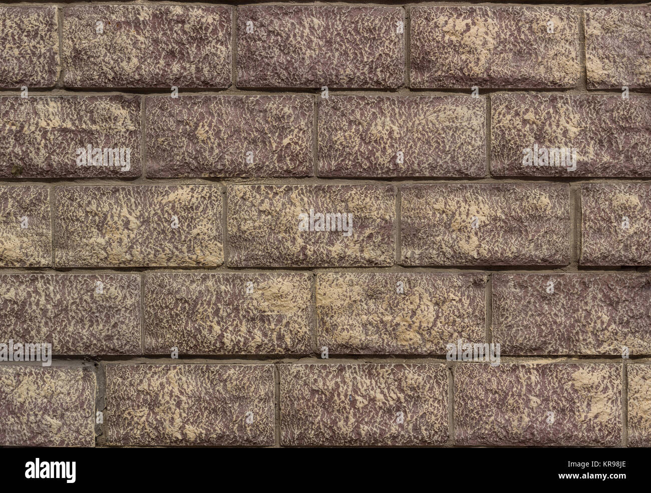 Bricks tiles wall texture background - Stock Image