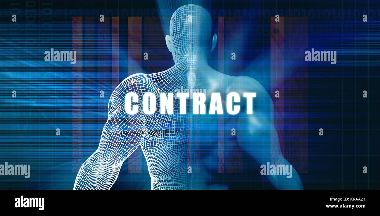 Contract - Stock Image