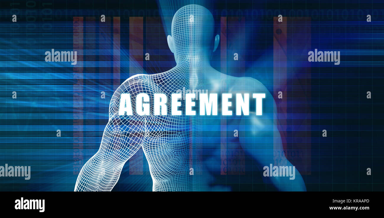 Agreement - Stock Image