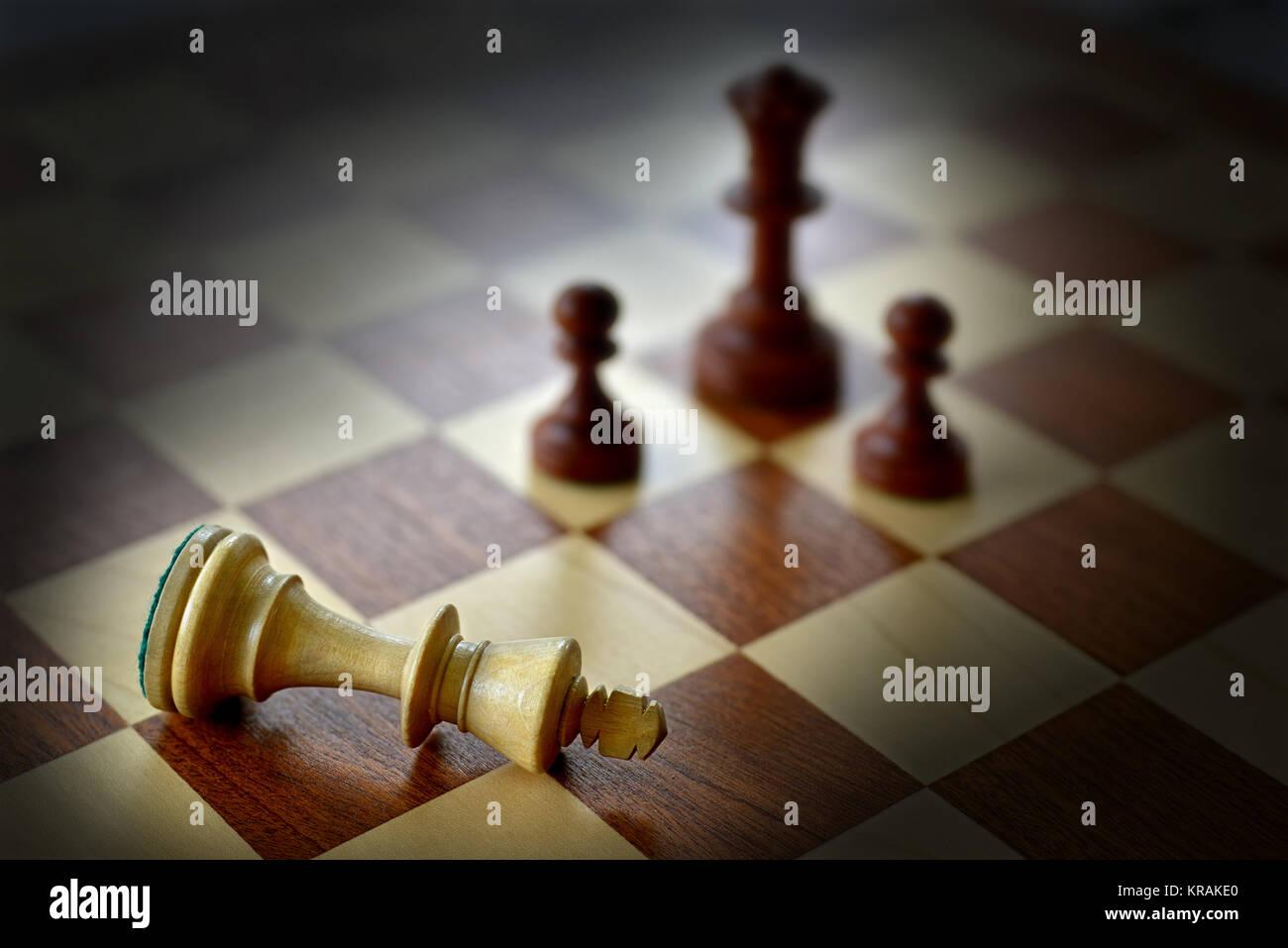 defeat - Stock Image