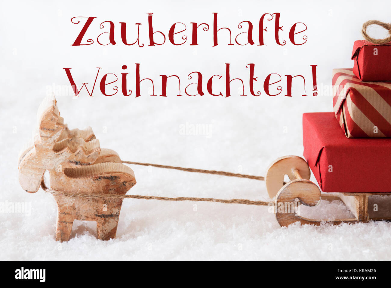 Merry Christmas Greetings In German Stock Photos Merry Christmas