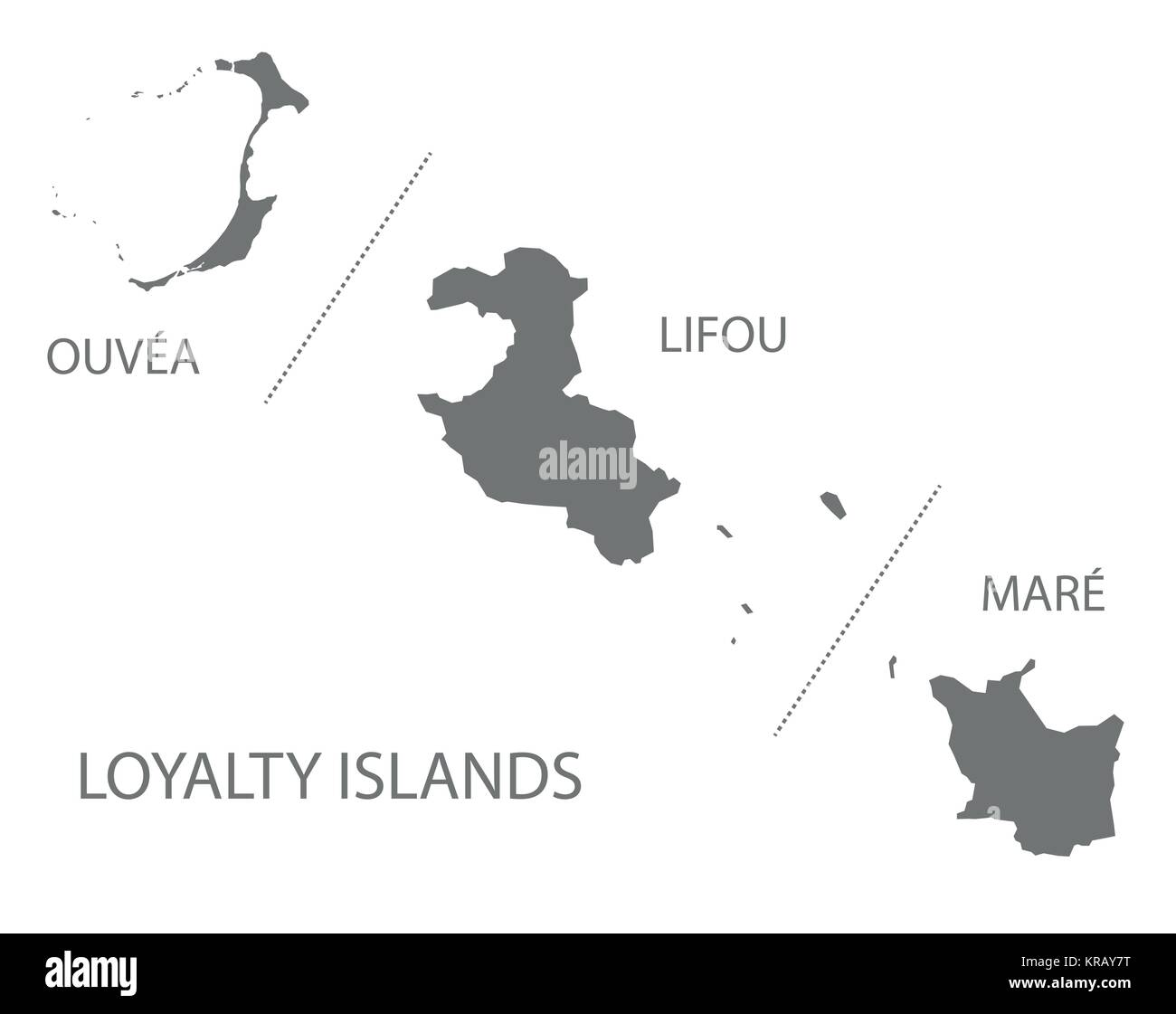 Loyalty islands map of new caledonia grey illustration silhouette loyalty islands map of new caledonia grey illustration silhouette shape gumiabroncs Gallery