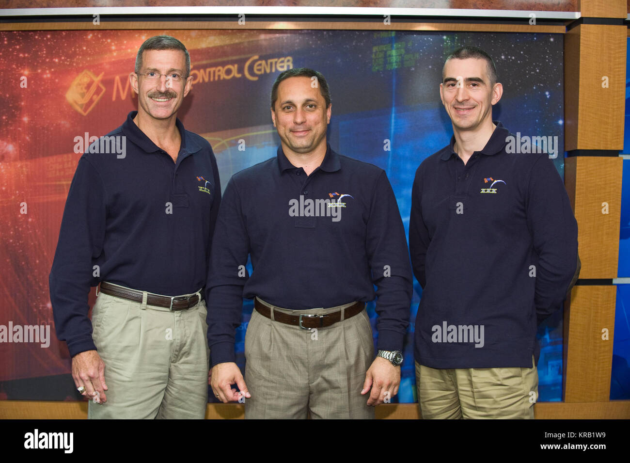 PHOTO DATE: 27 July 2011 LOCATION: Bldg. 2N Press Conference Room SUBJECT: Expedition 29 Press Conference PHOTOGRAPHER: - Stock Image