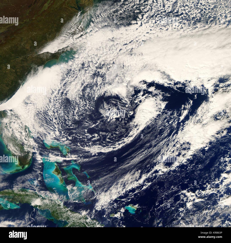 Extratropical Low Sean Nov 5 2011 - Stock Image