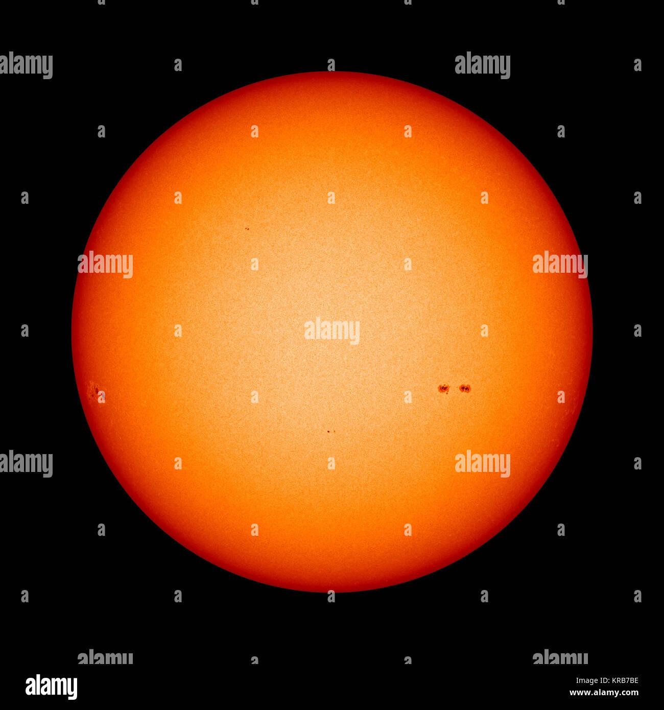 Quiet Interlude in Solar Max - Stock Image