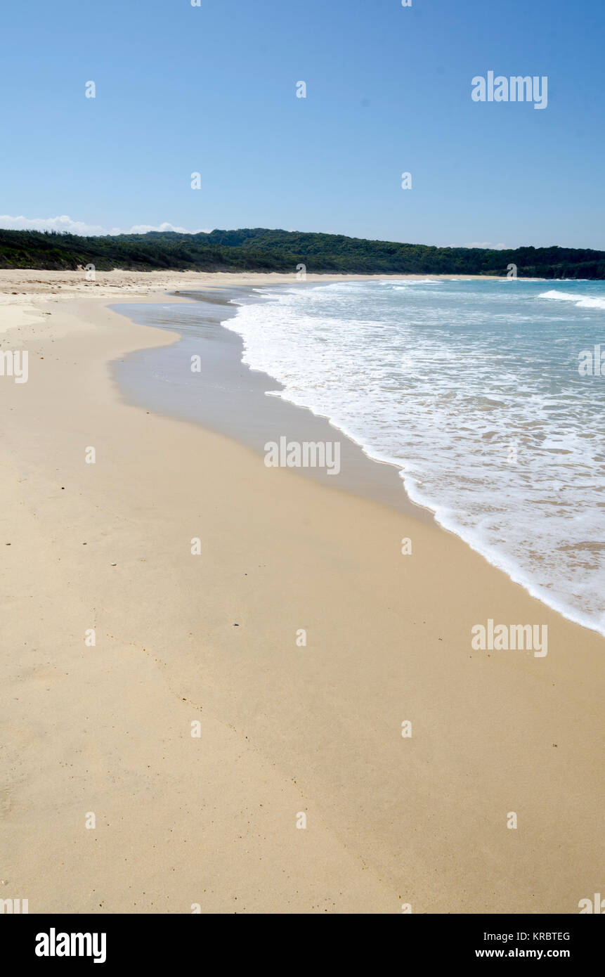 Beach at Potato Point, New South Wales, Australia - Stock Image