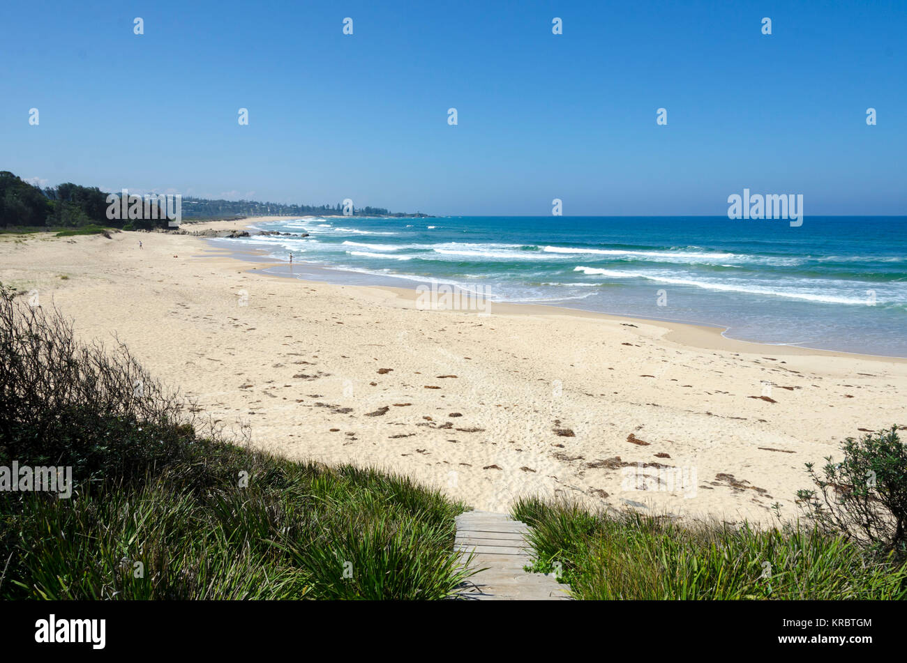 Blackfellows Beach, Potato Point, New South Wales, Australia - Stock Image