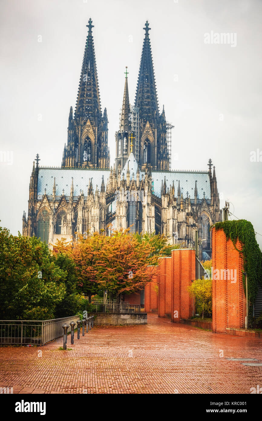 Cologne Cathedral, Germany - Stock Image