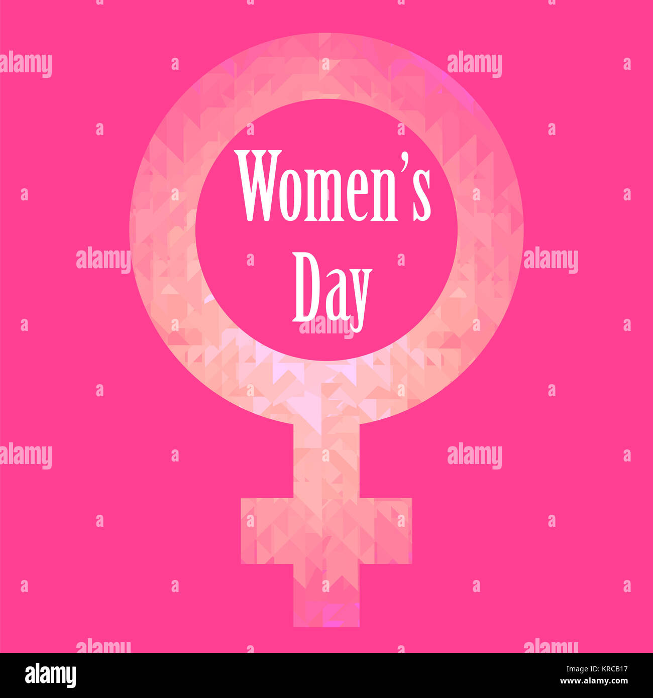 Happy International Womens Day Greeting Card Stock Photo 169302483