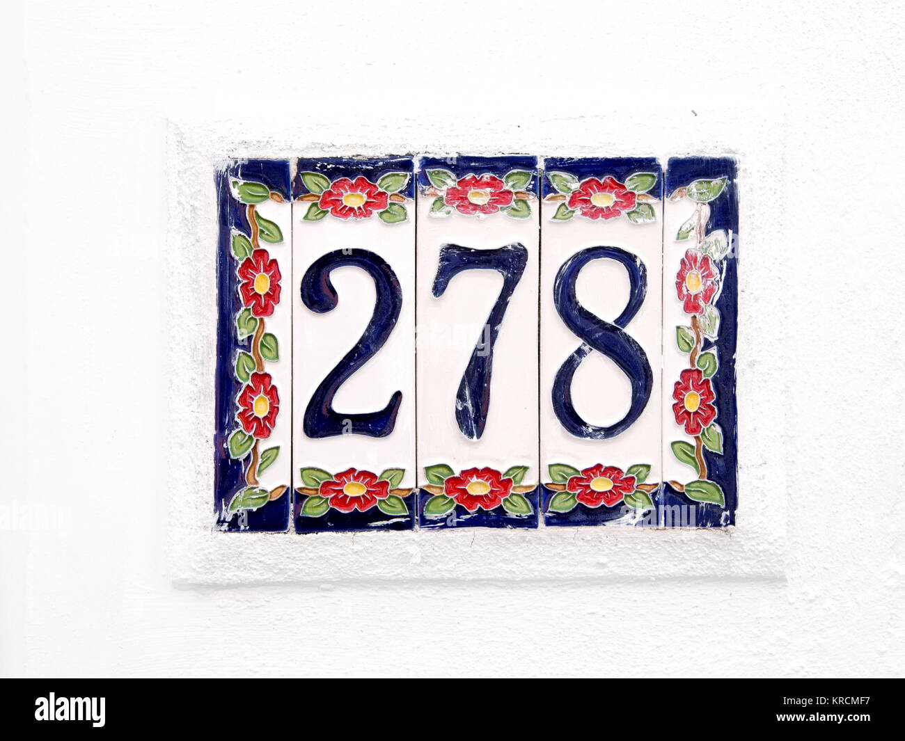 Number 278 - Stock Image