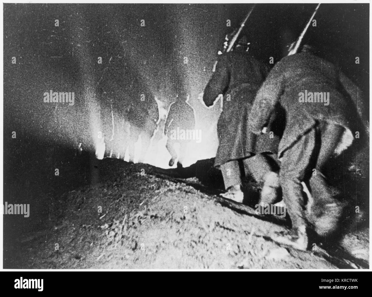 Kornilov's counter- revolutionary coup is defeated. Date: August 1917 - Stock Image