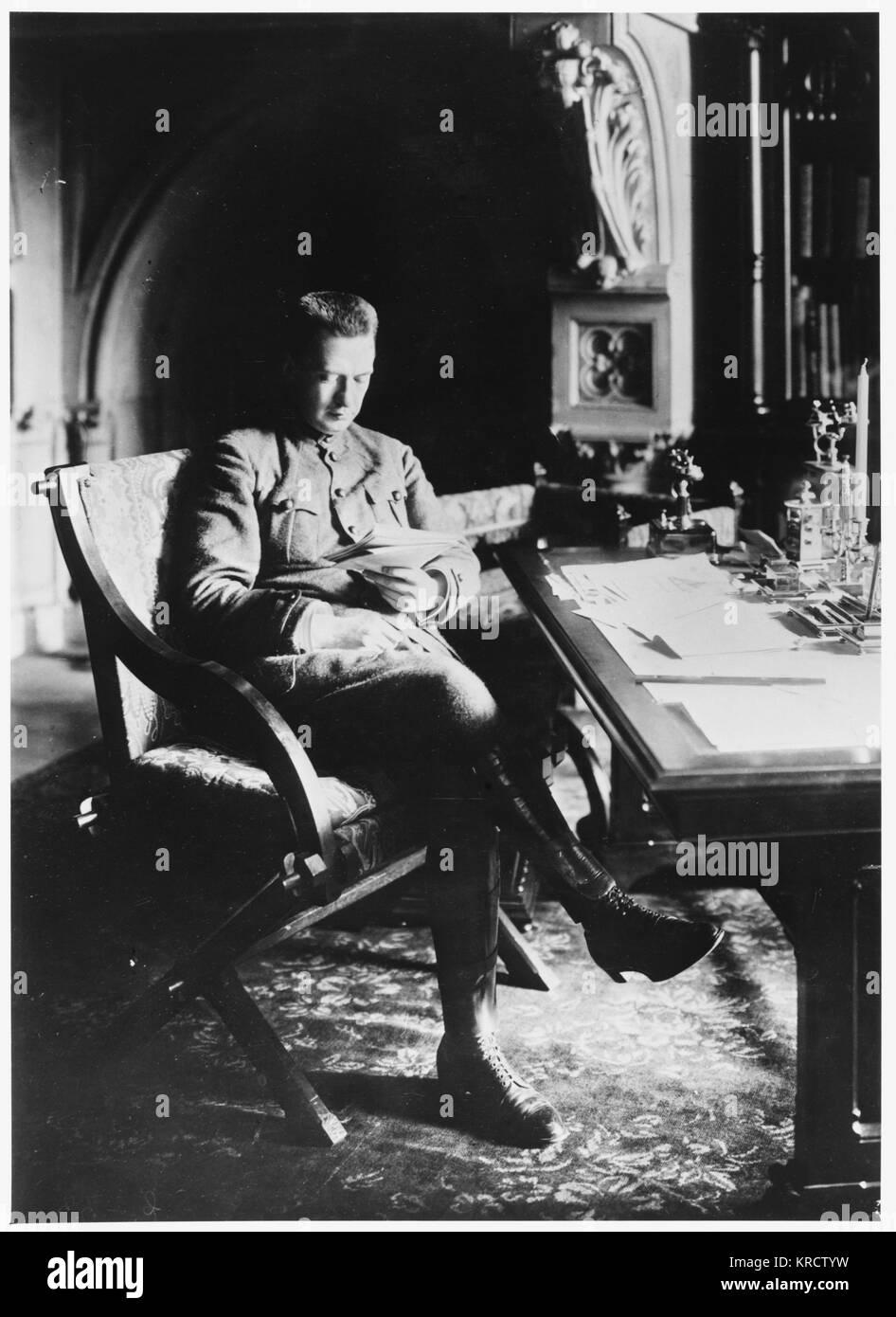 ALEKSANDR FYODOROVICH KERENSKY Russian Revolutionary leader Date: 1881 - 1970 - Stock Image
