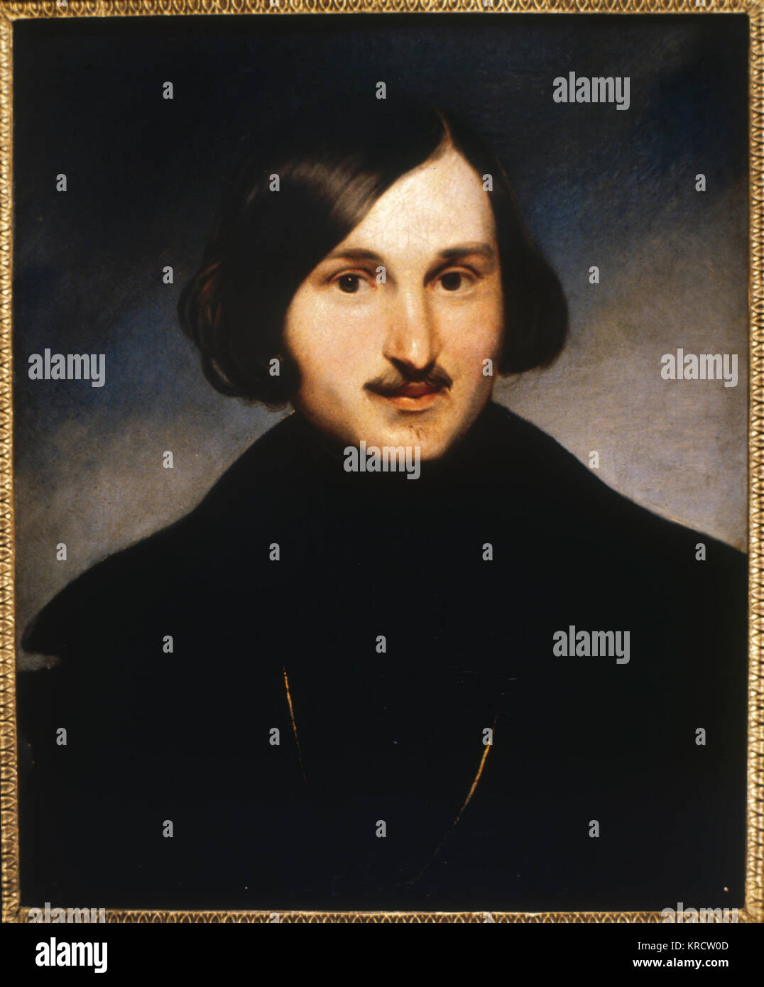 NIKOLAI VASILIEVICH GOGOL Russian writer Date: 1809 - 1852 - Stock Image