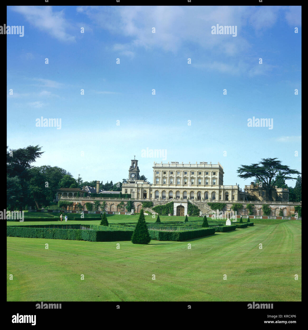 Cliveden, designed by Sir  Charles Barry, was built 1850  - 1851 for the Duke & Duchess  of Sutherland: - Stock Image