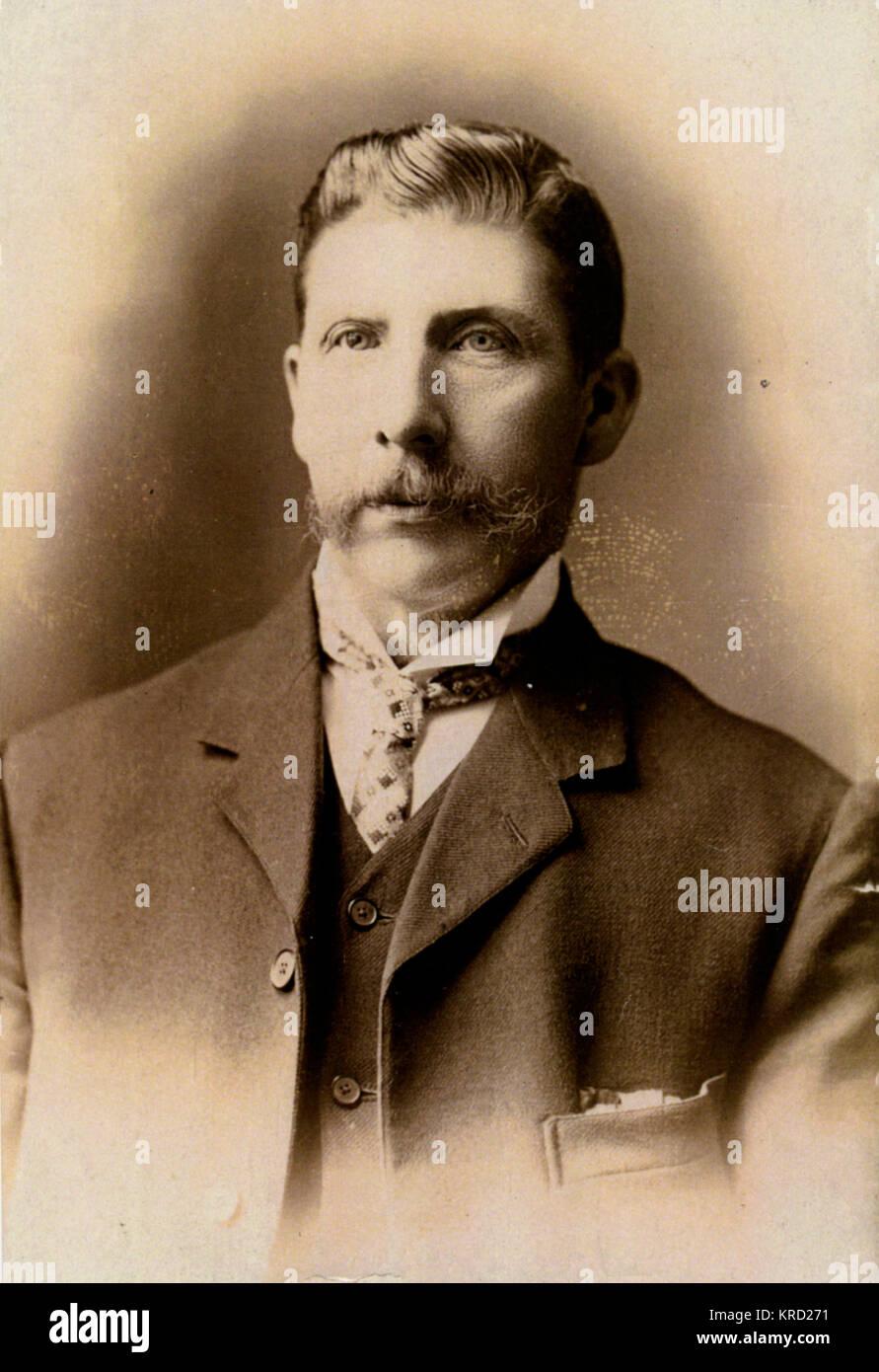 Victorian Photograph Of a Man Workington
