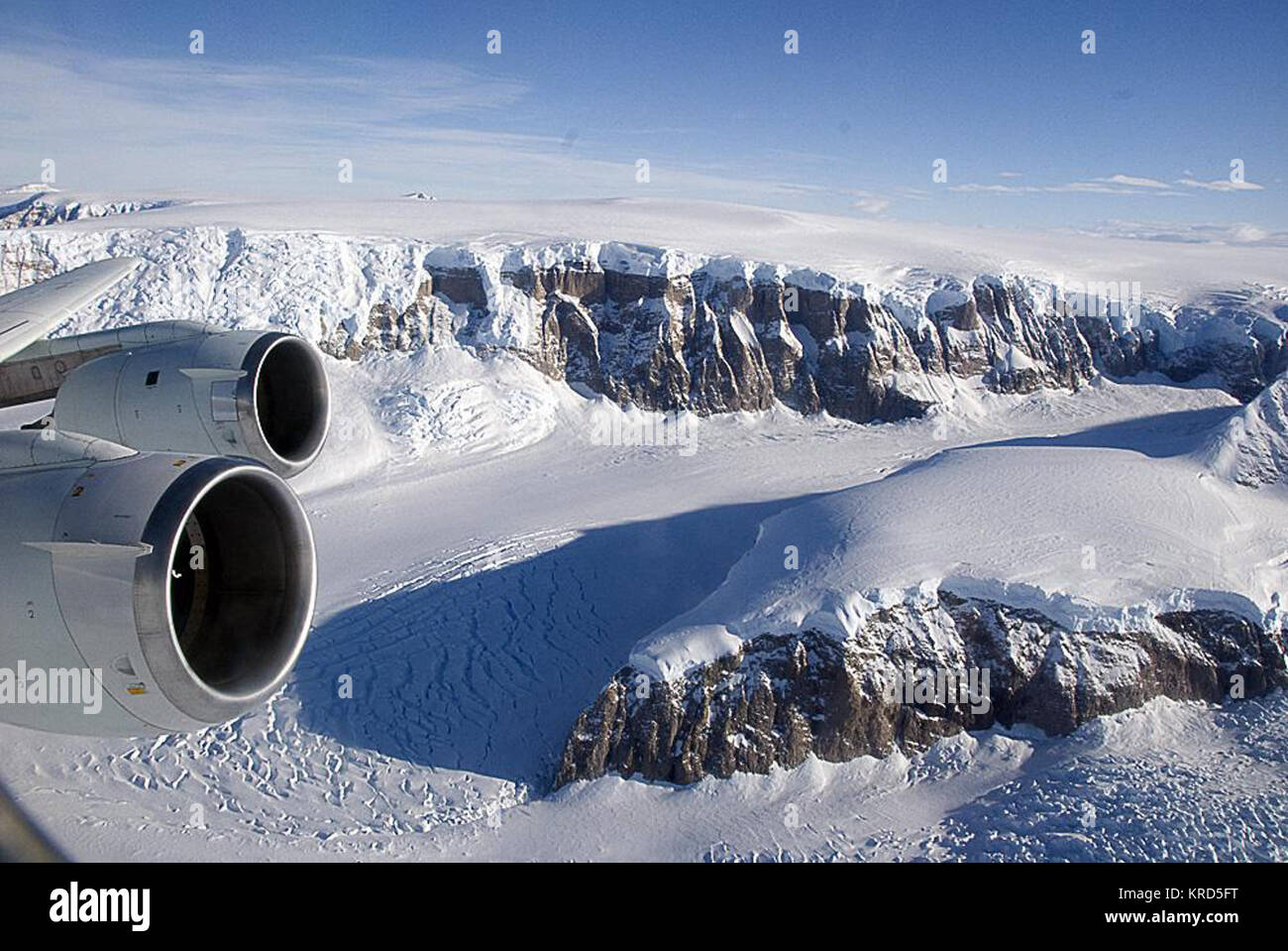 A Tour of the Antarctic Cryosphere NASA - Stock Image