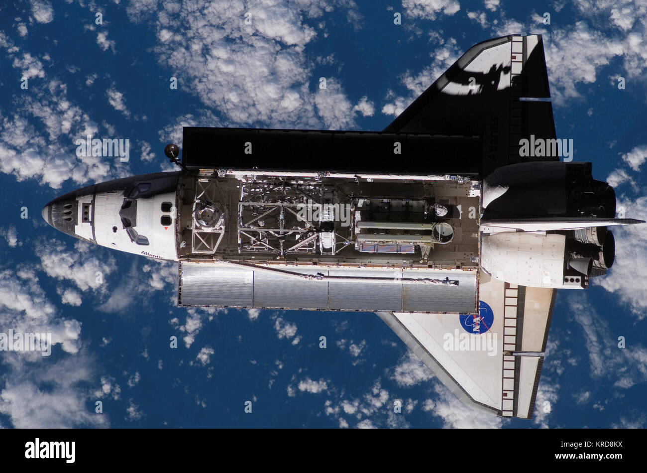 ISS15 STS-117 - Stock Image