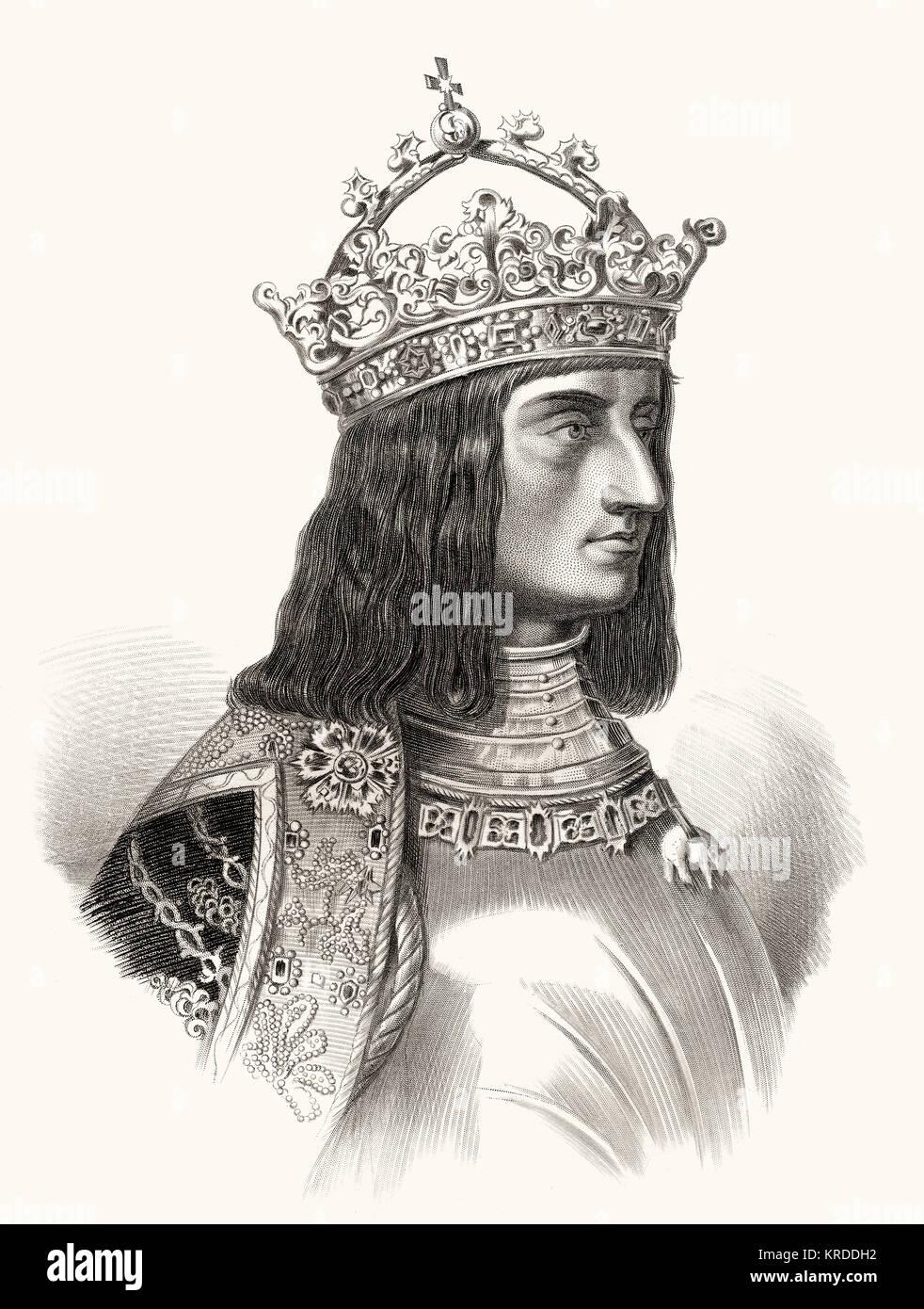 Maximilian I von Habsburg, 1459 -1519, Emperor of the Holy Roman Empire - Stock Image