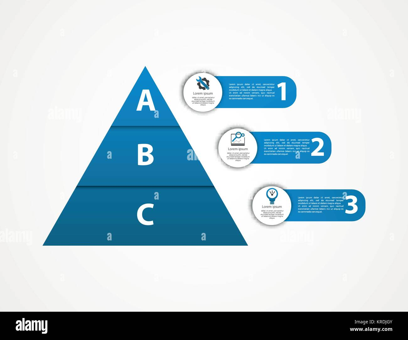 Business Pyramid Infographic Template Design Stock Photos Business