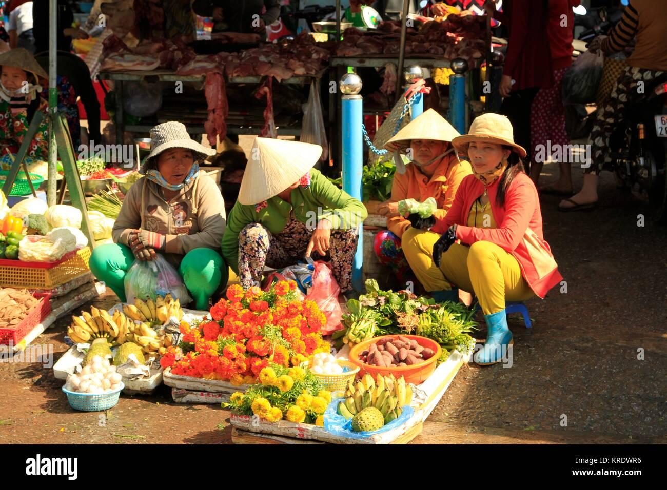 Duong Dong Market, Phu Quoc Island, Vietnam - Stock Image