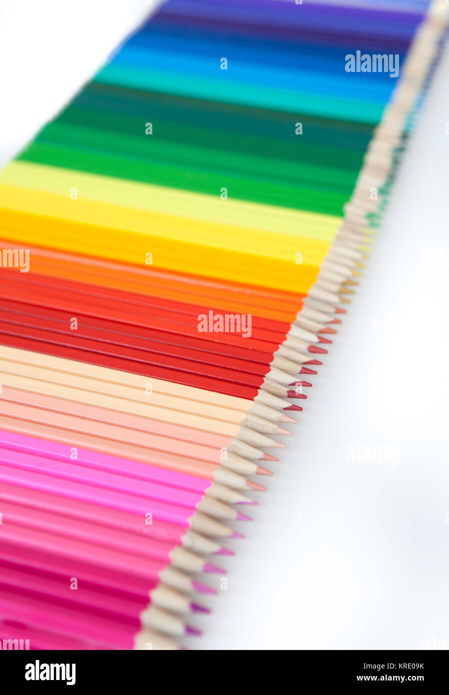colorful pins - Stock Image
