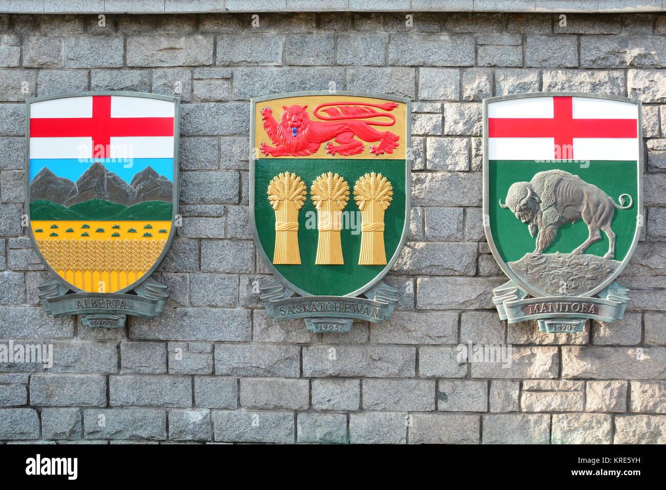 Canadian Coat Of Arms Stock Photos Canadian Coat Of Arms Stock