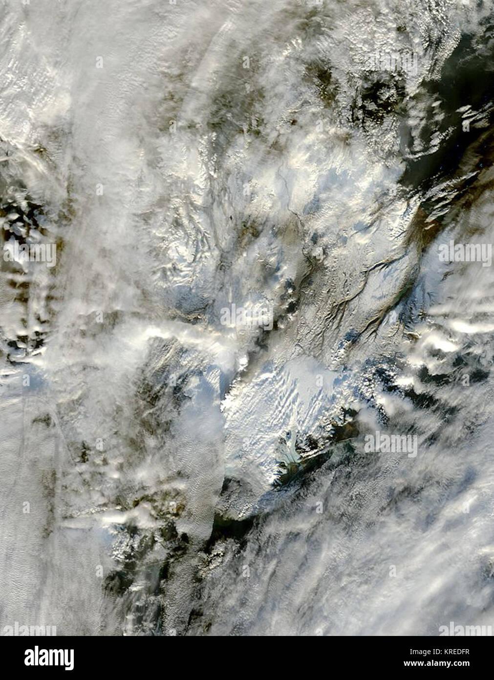 Grimsvotn volcano - Stock Image