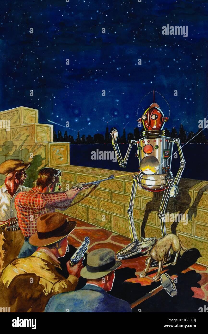 I, Robot Stock Photo