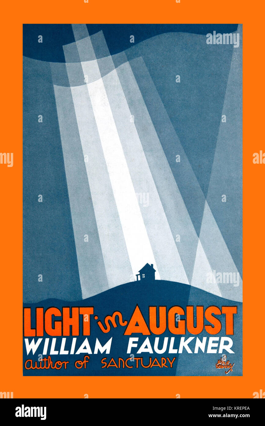 an analysis of the novel light in august a novel by william faulkner William faulkner was born in new albany, mississippi, on september 25, 1897 he published his first book, the marble faun (a collection of poems), in 1924, and his first novel, soldier's pay, in 1926.