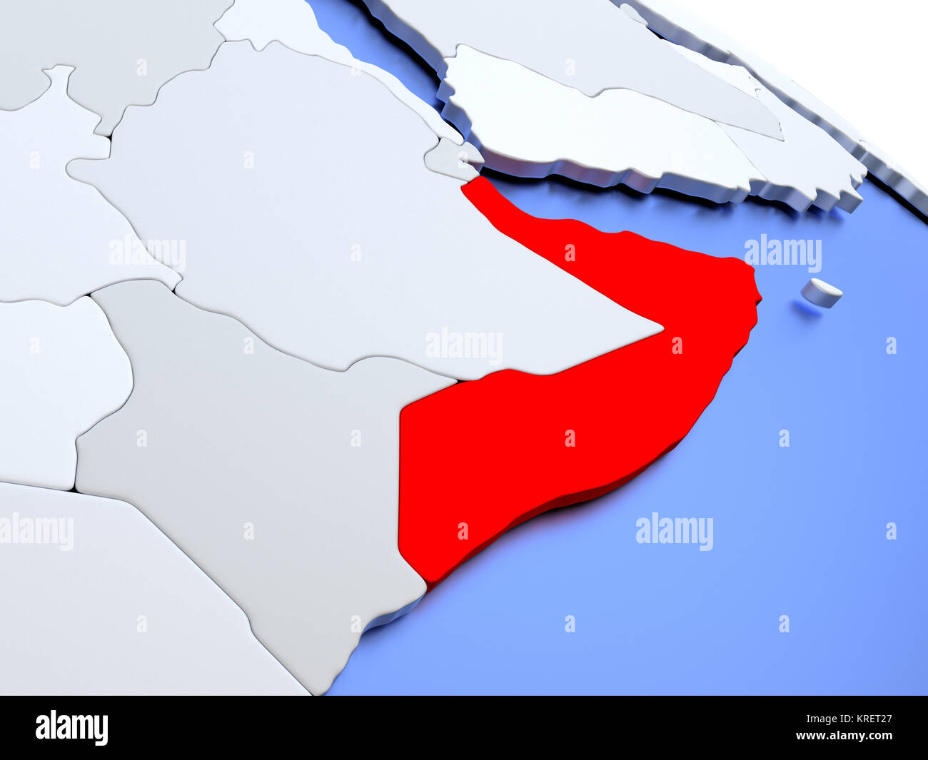 World Map Somolia.Somalia On World Map Stock Photo 169356607 Alamy