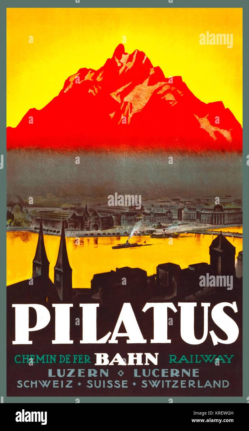 Pilatus - Stock Image