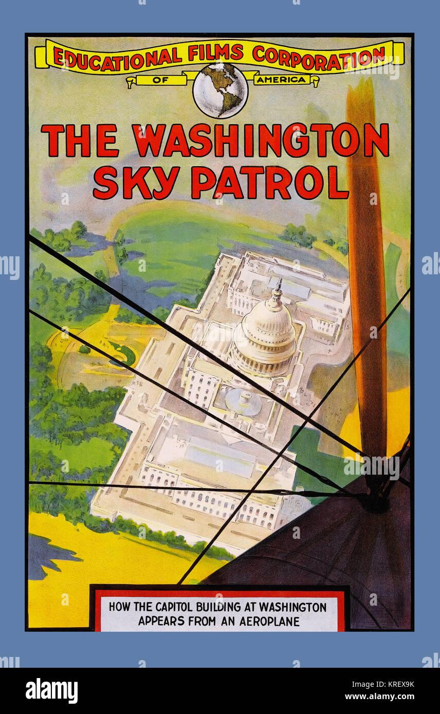 Washington Sky Patrol - Stock Image