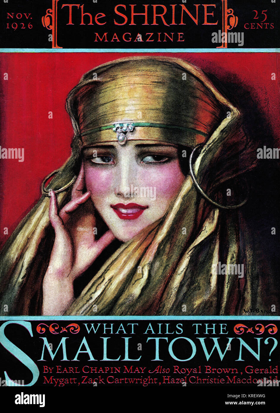 The Shrine Magazine - November 1926 - Stock Image