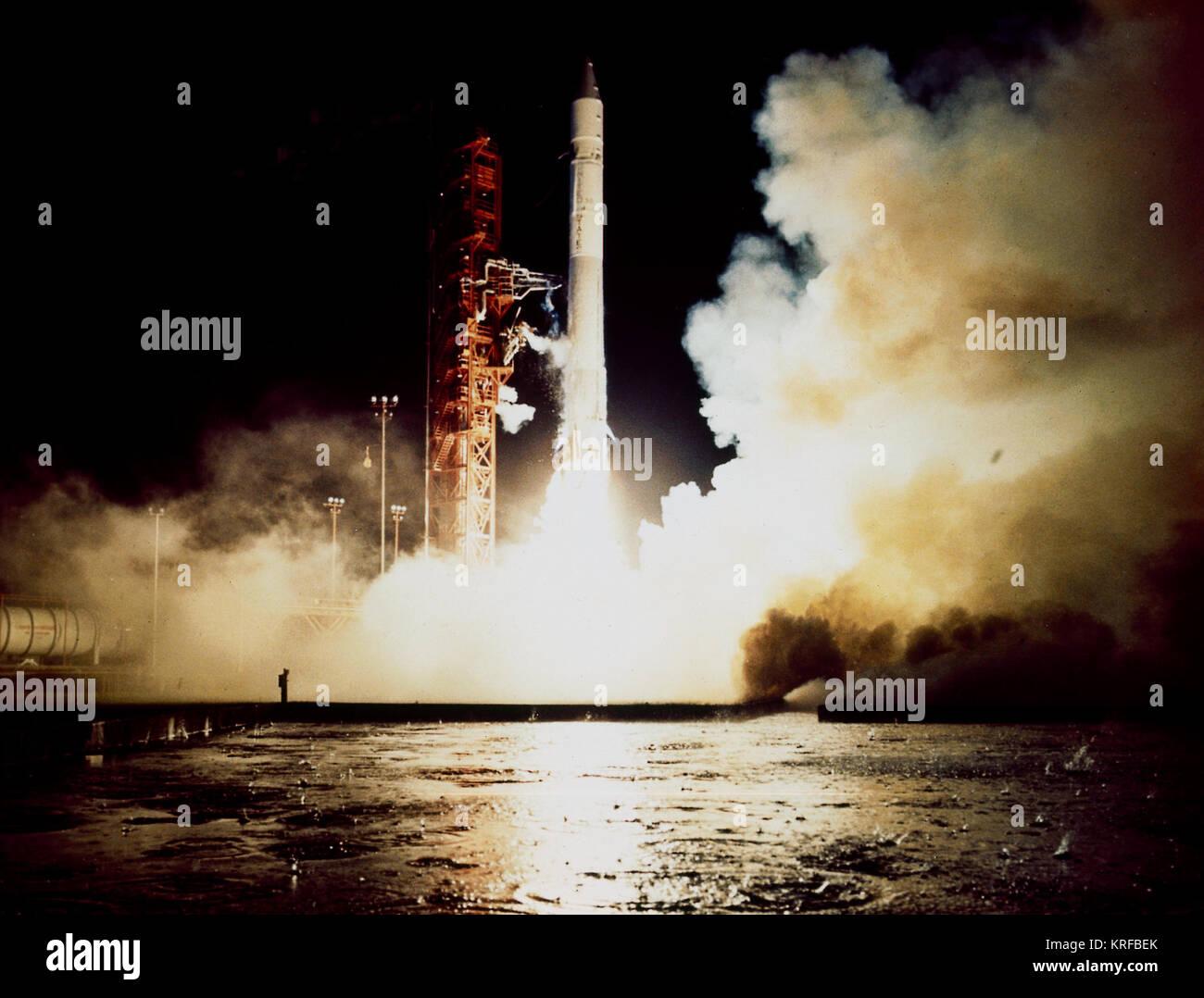 Launch Of Pioneer G 11 Launch Vehicle Atlas Centaur Launch