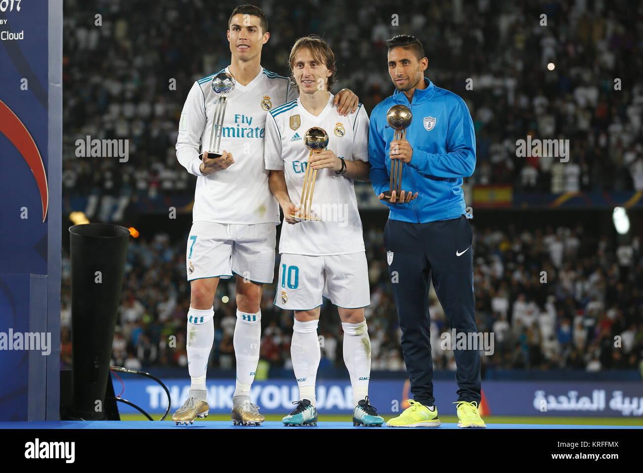 premium selection ace95 61cc1 Abu Dhabi, UAE. 16th Dec, 2017. (L-R) Cristiano Ronaldo ...