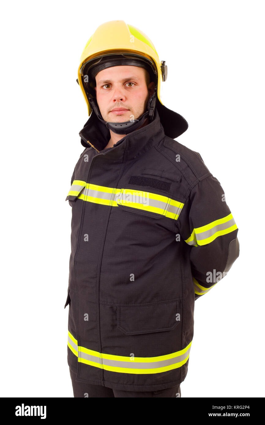 fire fighter - Stock Image