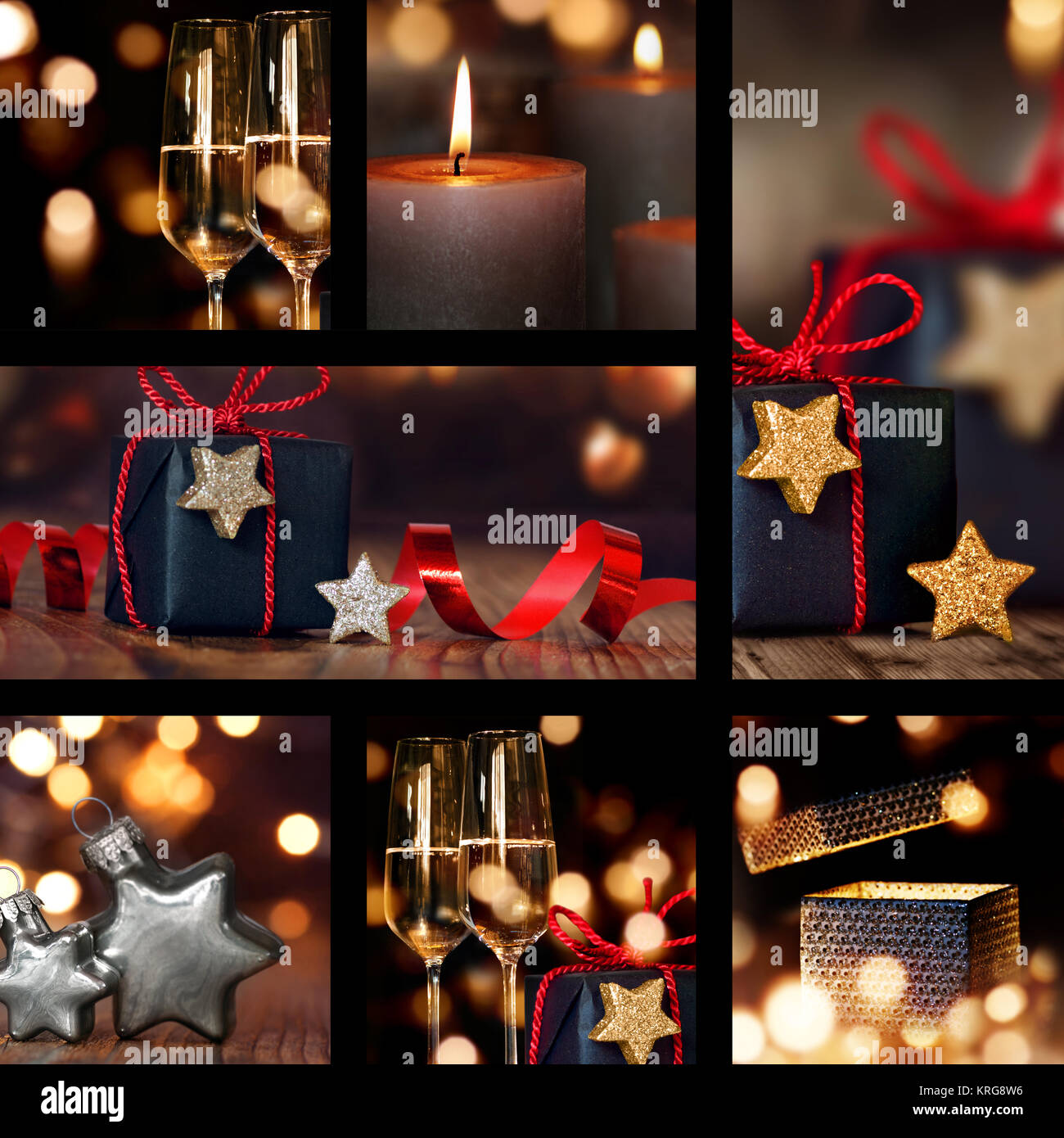 Phenomenal Collage Of Christmas Table Decorations Stock Photo Download Free Architecture Designs Scobabritishbridgeorg