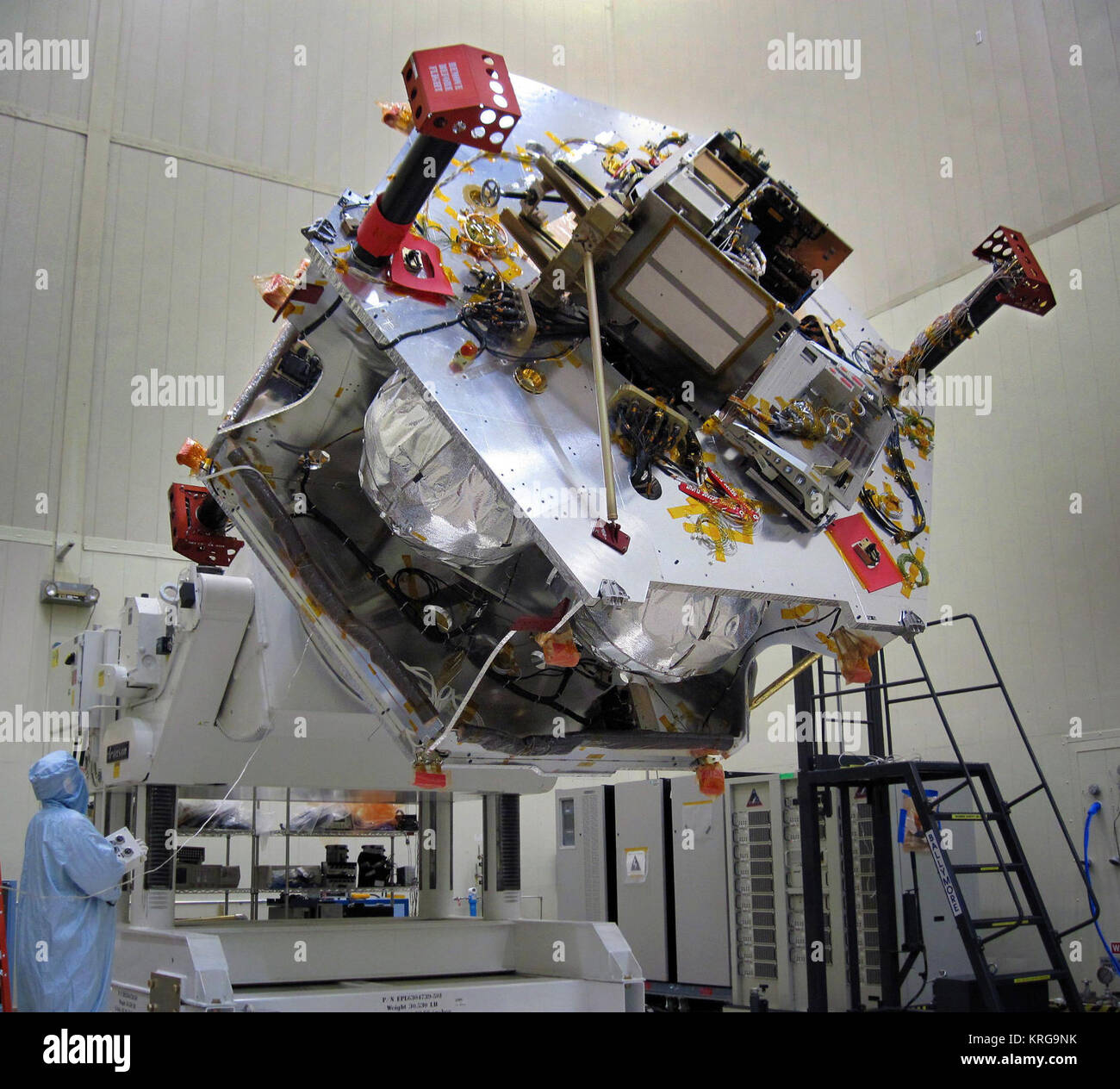 Rotating Juno for Integrating Instruments - Stock Image