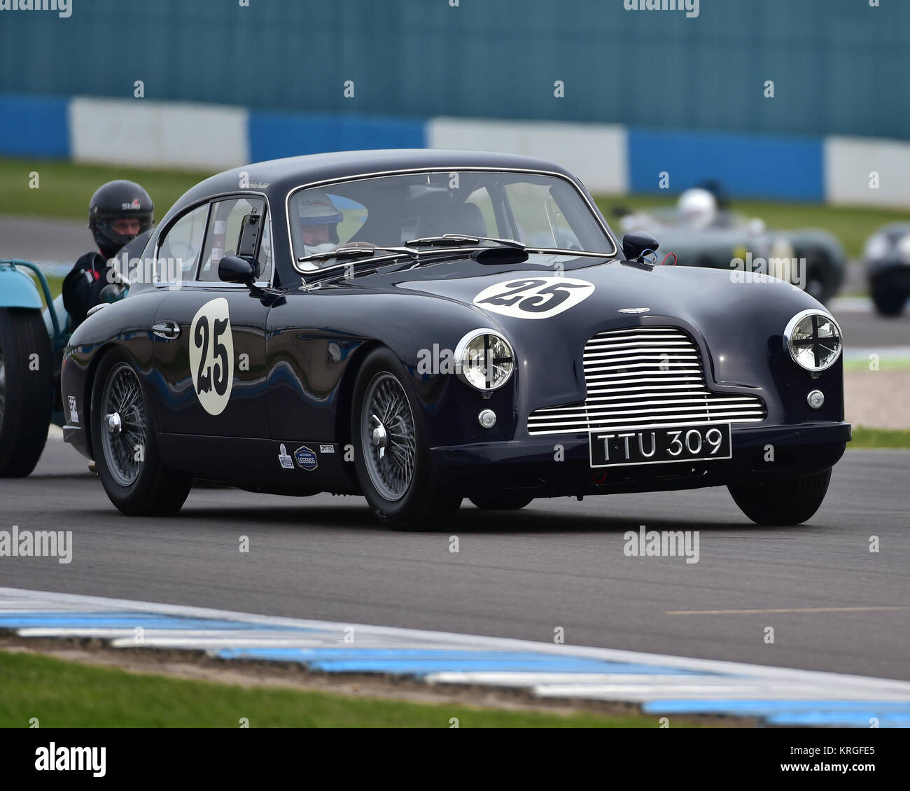Nick Ruddell Aston Martin Db2 4 Mki Royal Automobile Club Rac Stock Photo Alamy