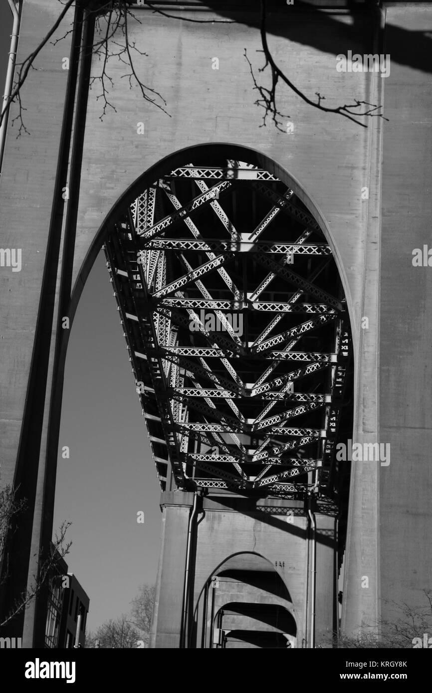 George Washington Memorial Bridge - Stock Image