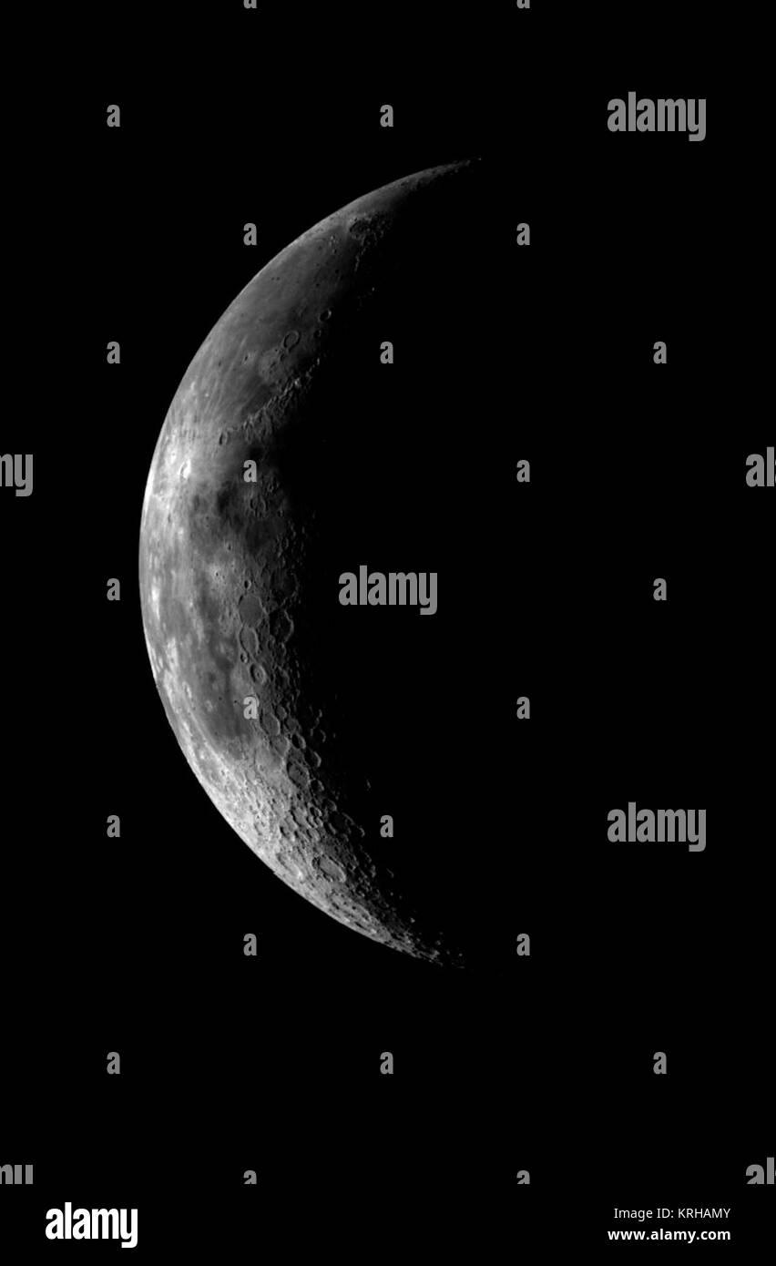 PIA00224 Moon (Western Nearside) - Stock Image