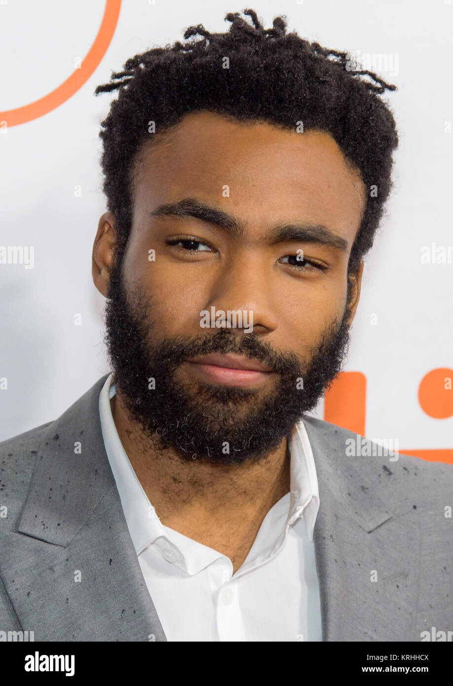 """Actor Donald Glover attends the world premiere for 'The Martian"""" on day two of the Toronto International Film - Stock Image"""