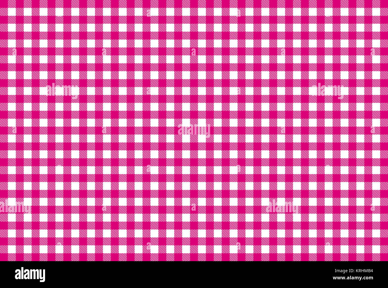 Tablecloths Checkered Pattern Pink White